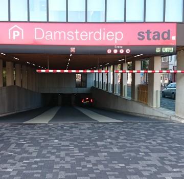 Parkeren Damsterdiep Groningen