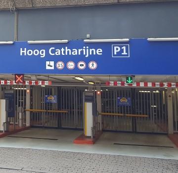 Parkeren - Hoog Catharijne P1 - Utrecht