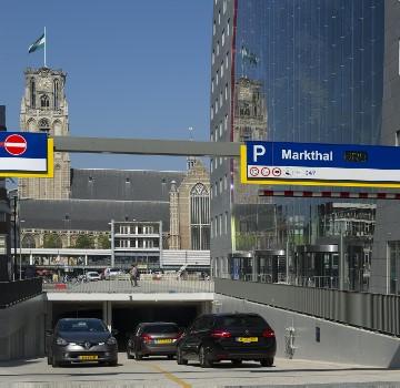 Markthal Parking Rotterdam Interparking